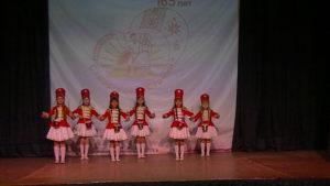 танцевальная композиция Аты-баты. на сцене Дворца творчества